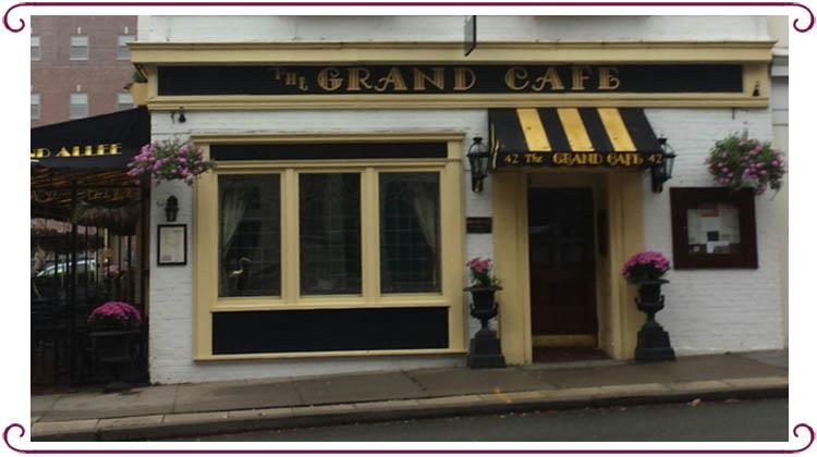 Grand Cafe Morristown Menu